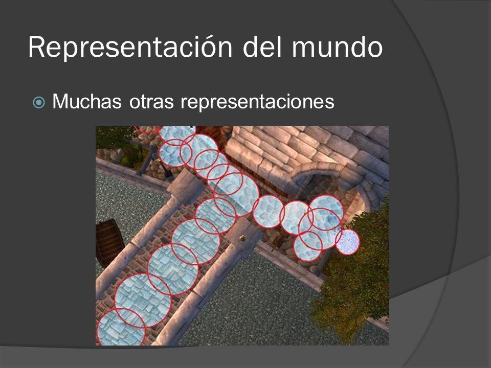 Representación del mundo Muchas otras representaciones