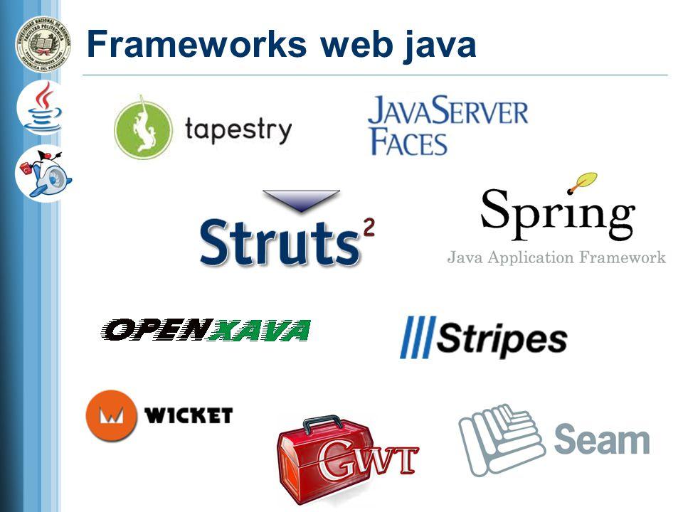 Frameworks web java