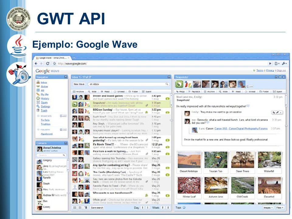Ejemplo: Google Wave