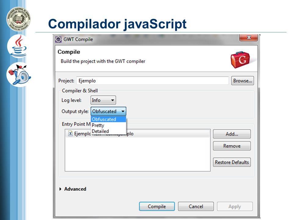 Compilador javaScript
