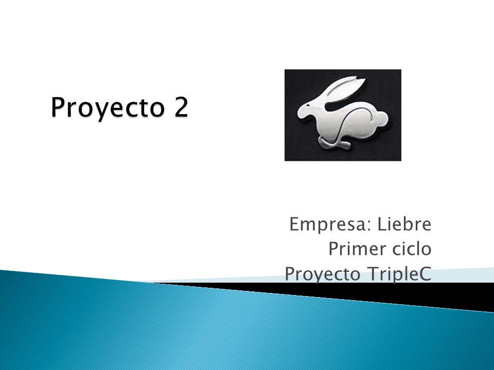 Empresa: Liebre Primer ciclo Proyecto TripleC