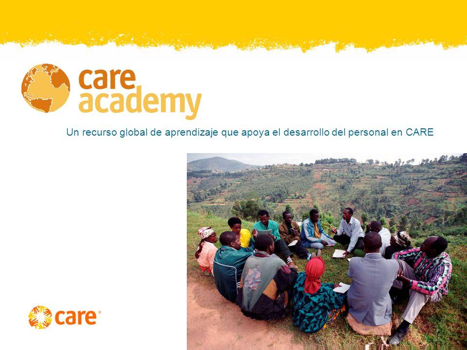 Cursos de Aprendizaje en Línea – en línea y CDROM Cursos de CARE El Abordaje de CARE para Erradicar la Pobreza – Inglés, Francés, Español, Portugués y Árabe.