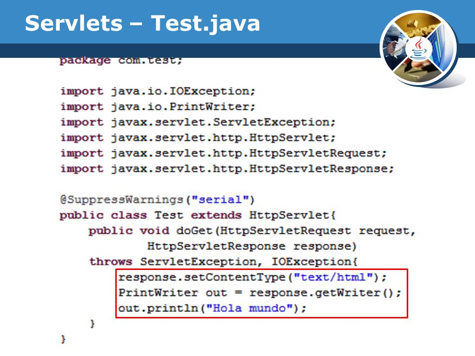 Servlets – Web.xml