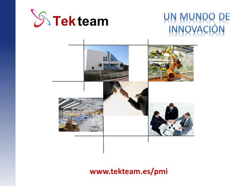 www.tekteam.es/pmi Titol principal