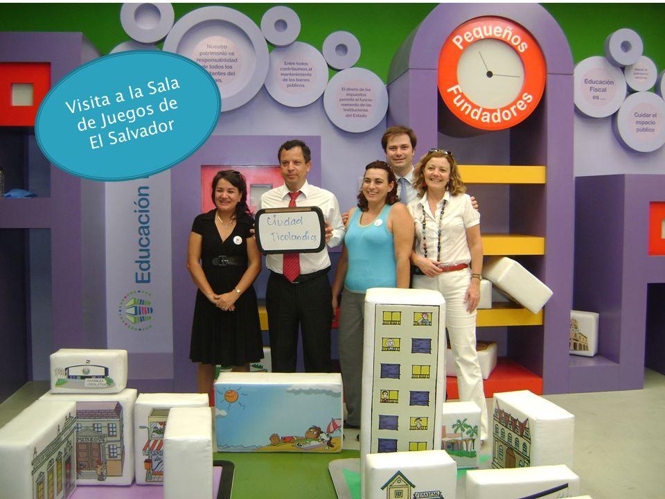Visita a la Sala de Juegos de El Salvador