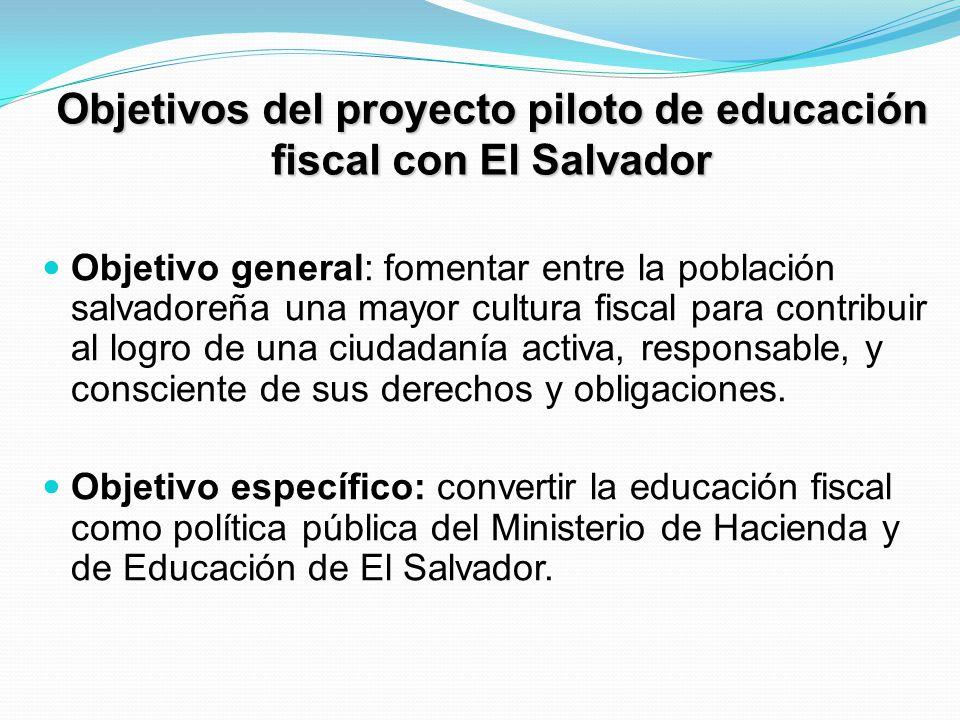 Líneas de actuación Componente 1: estrategia de educación fiscal en Ministerio de Hacienda.