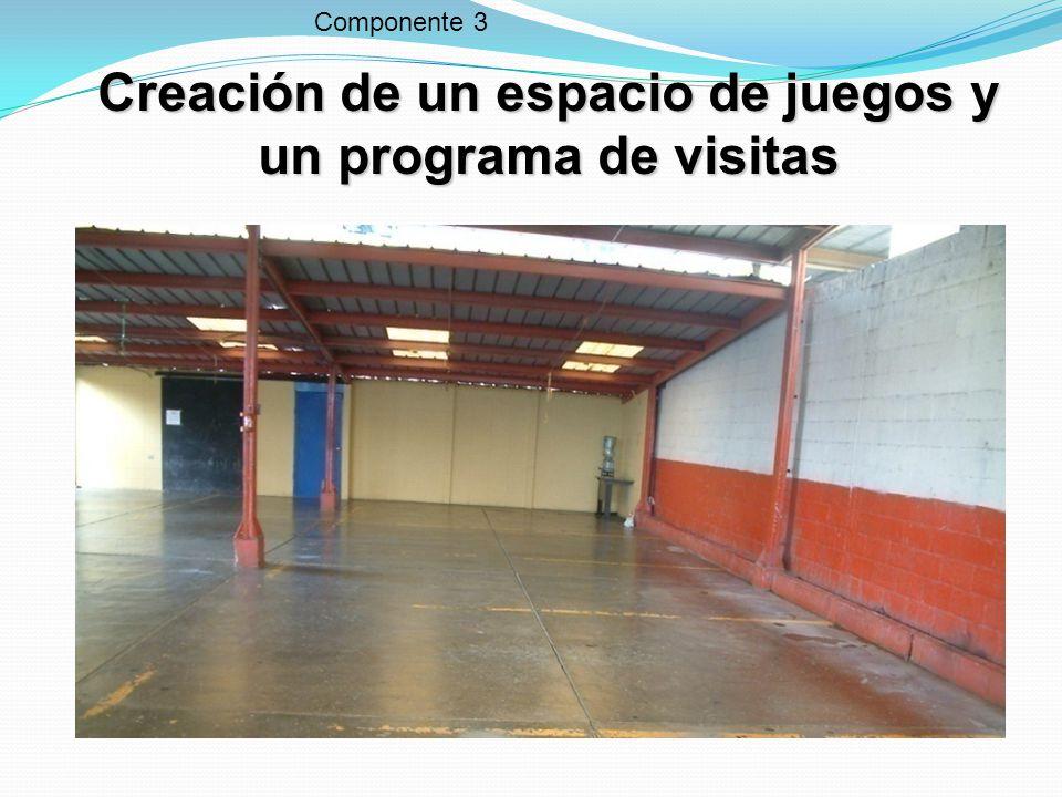 Primer espacio de juegos de toda Centroamérica Finalizado el 26 de enero de 2009 Componente 3