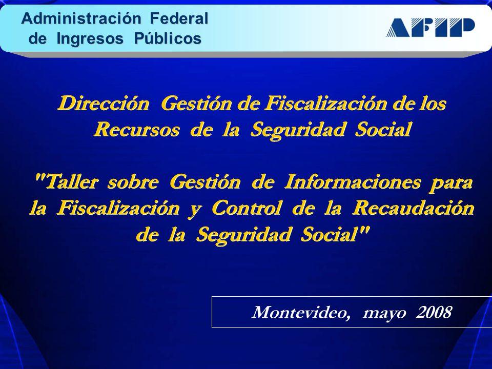 Dirección Gestión de Fiscalización de los Recursos de la Seguridad Social