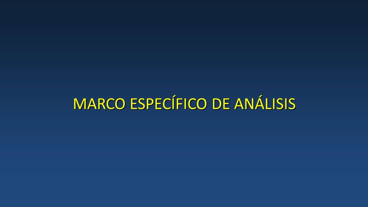 MARCO ESPECÍFICO DE ANÁLISIS