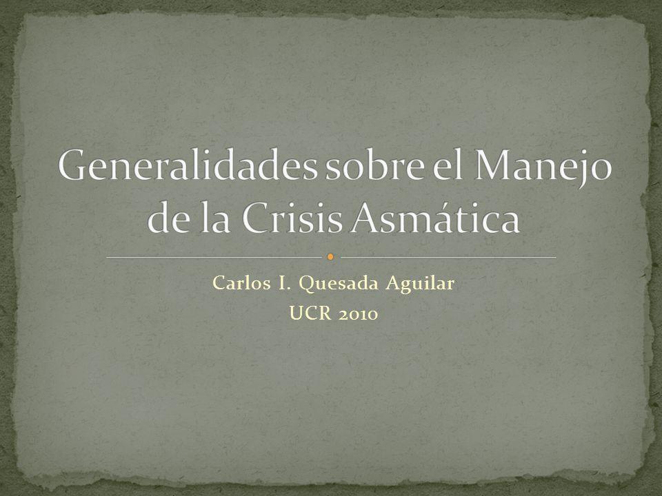 Carlos I. Quesada Aguilar UCR 2010