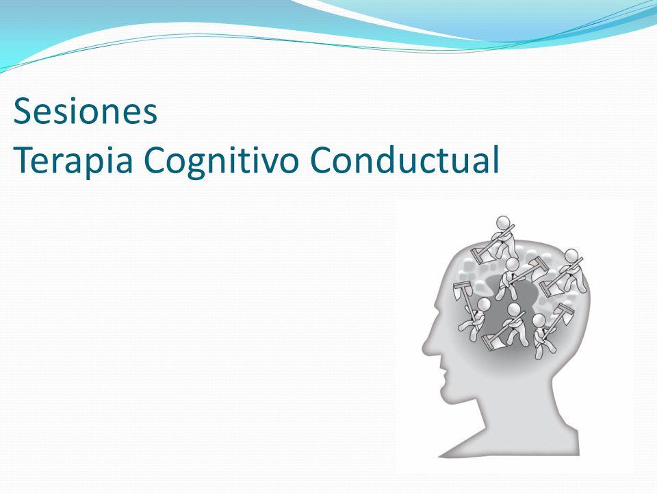 Sesiones Terapia Cognitivo Conductual