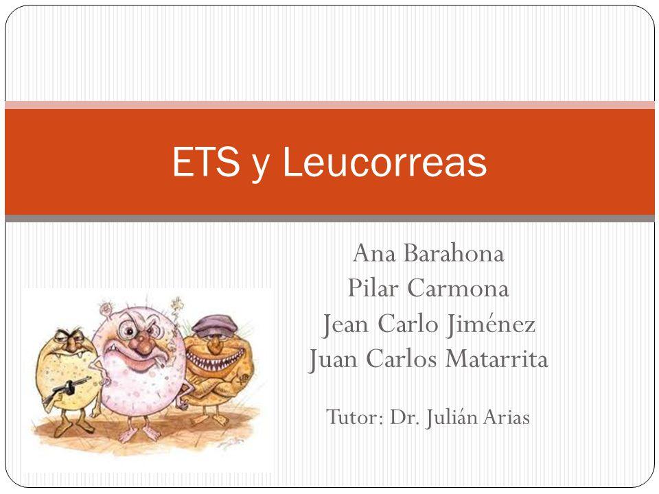 Ana Barahona Pilar Carmona Jean Carlo Jiménez Juan Carlos Matarrita Tutor: Dr. Julián Arias ETS y Leucorreas