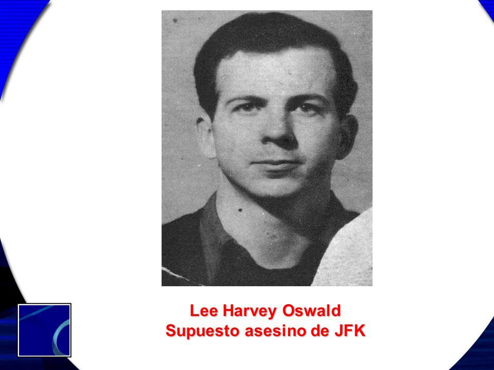 Lee Harvey Oswald Supuesto asesino de JFK
