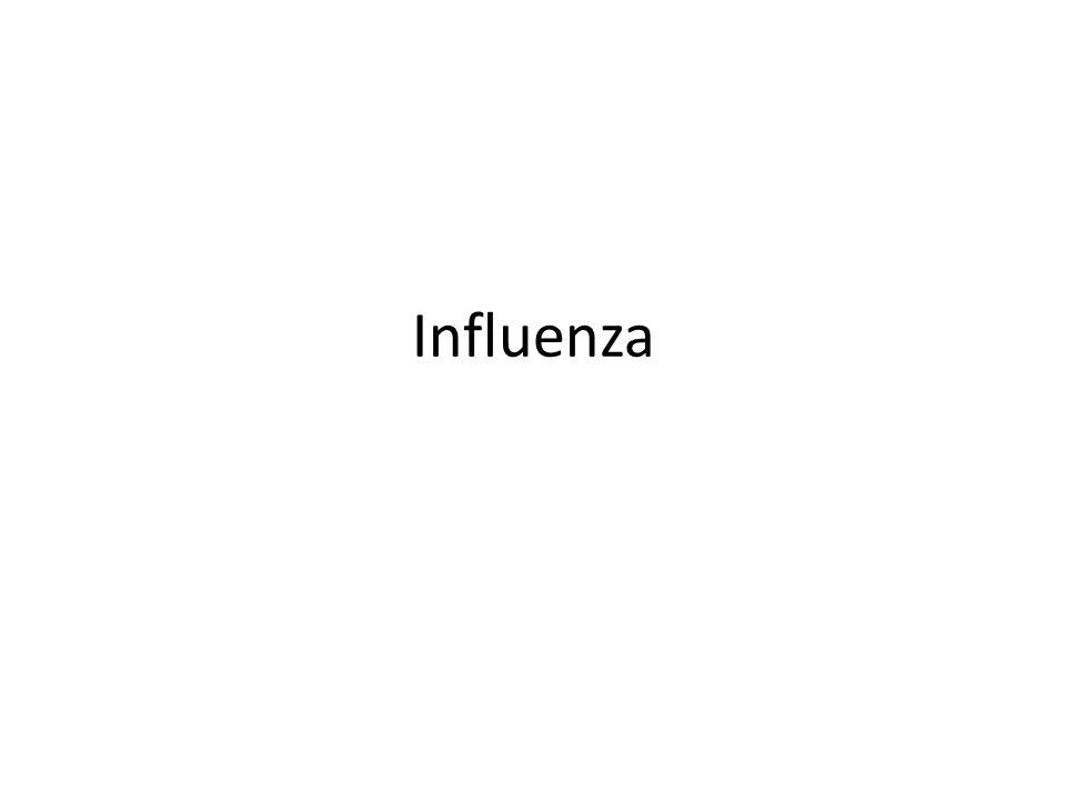 Influenza: Fisiopatología