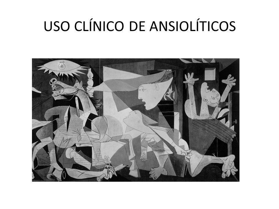 USO CLÍNICO DE ANSIOLÍTICOS