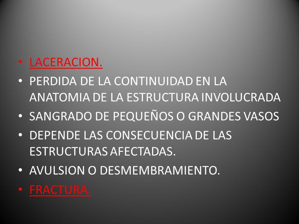 LACERACION.