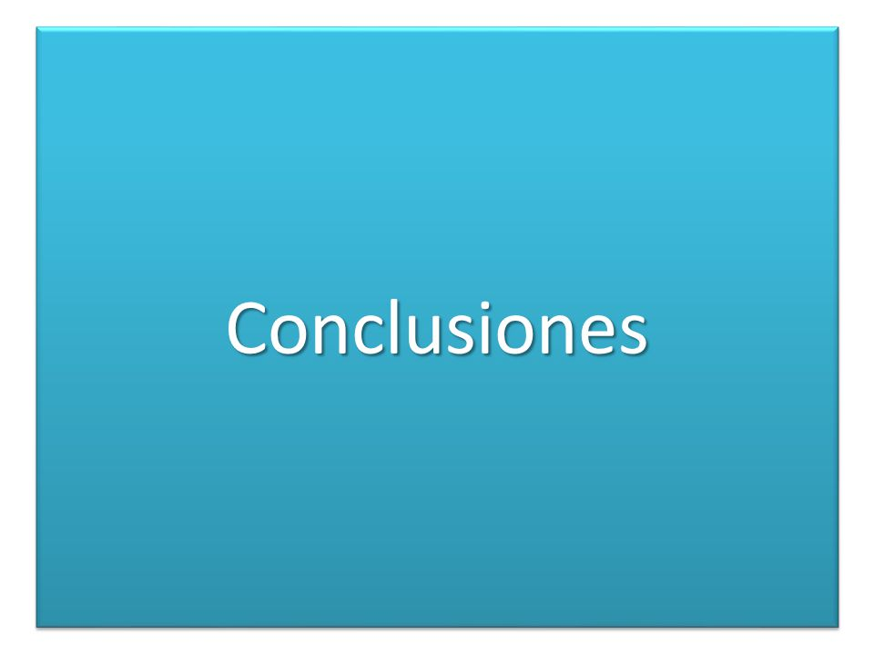 ConclusionesConclusiones