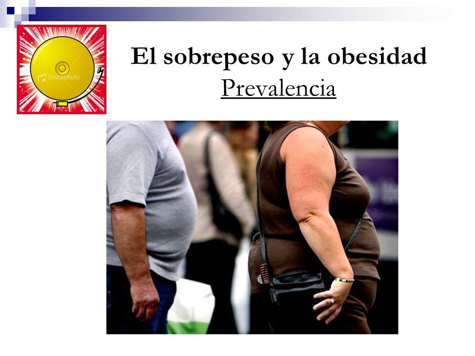 El sobrepeso y la obesidad Prevalencia