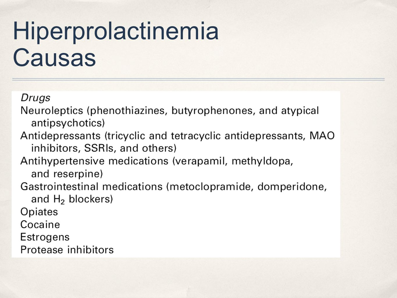 Hiperprolactinemia Causas