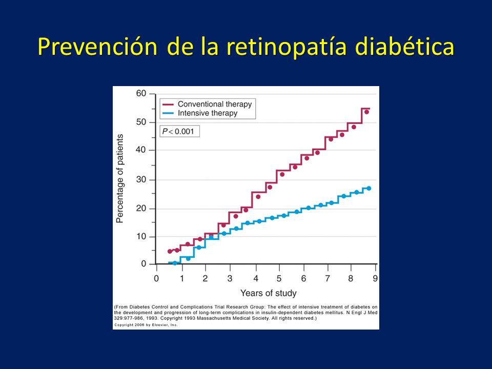 Prevención de la retinopatía diabética