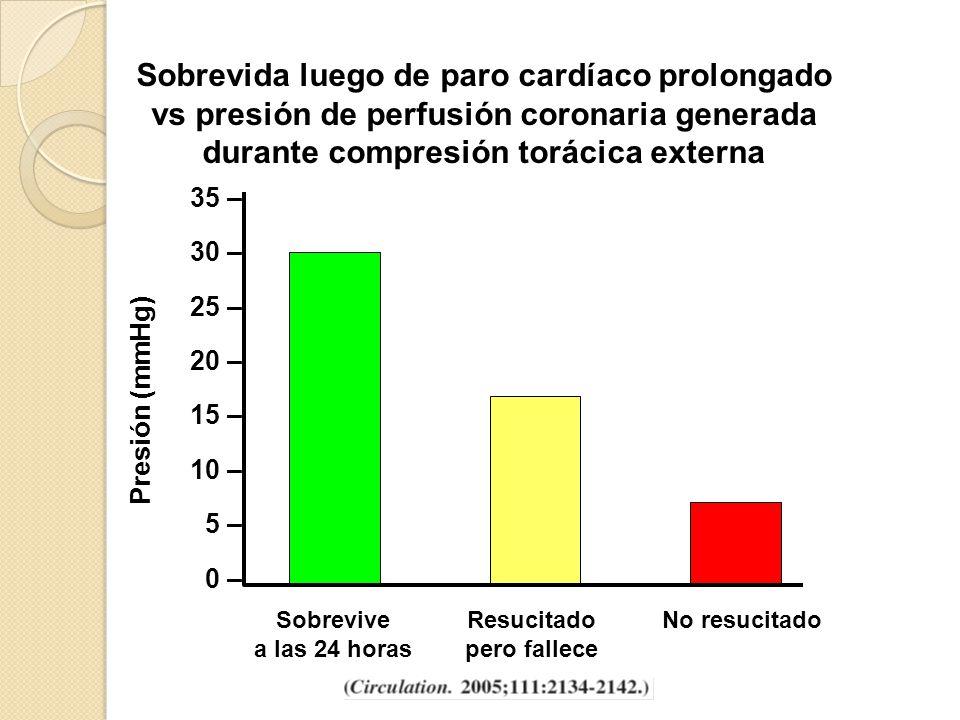 Medidas farmacológicas Vasopresina: 40 U IV dosis única Epinefrina: 1 mg c/3 - 5 min Amiodarona: 300 mg IV Atropina: 0,5 - 1 mg IV c/3 - 5 min Lidocaína: uso más restringido