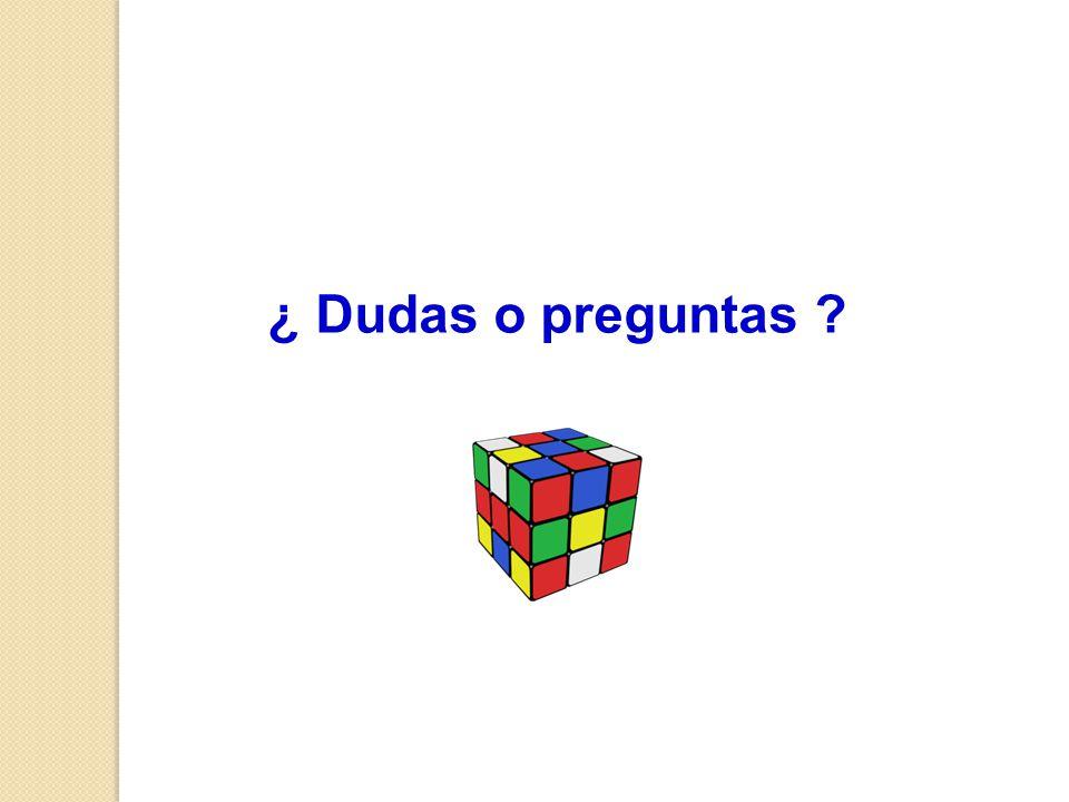 ¿ Dudas o preguntas ?