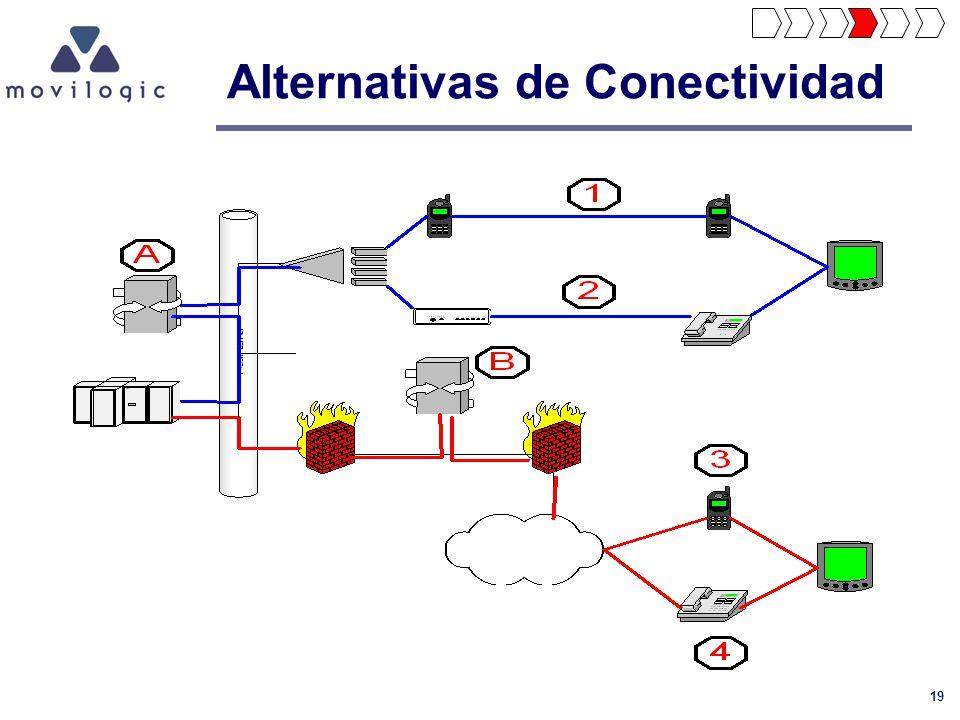 19 Alternativas de Conectividad