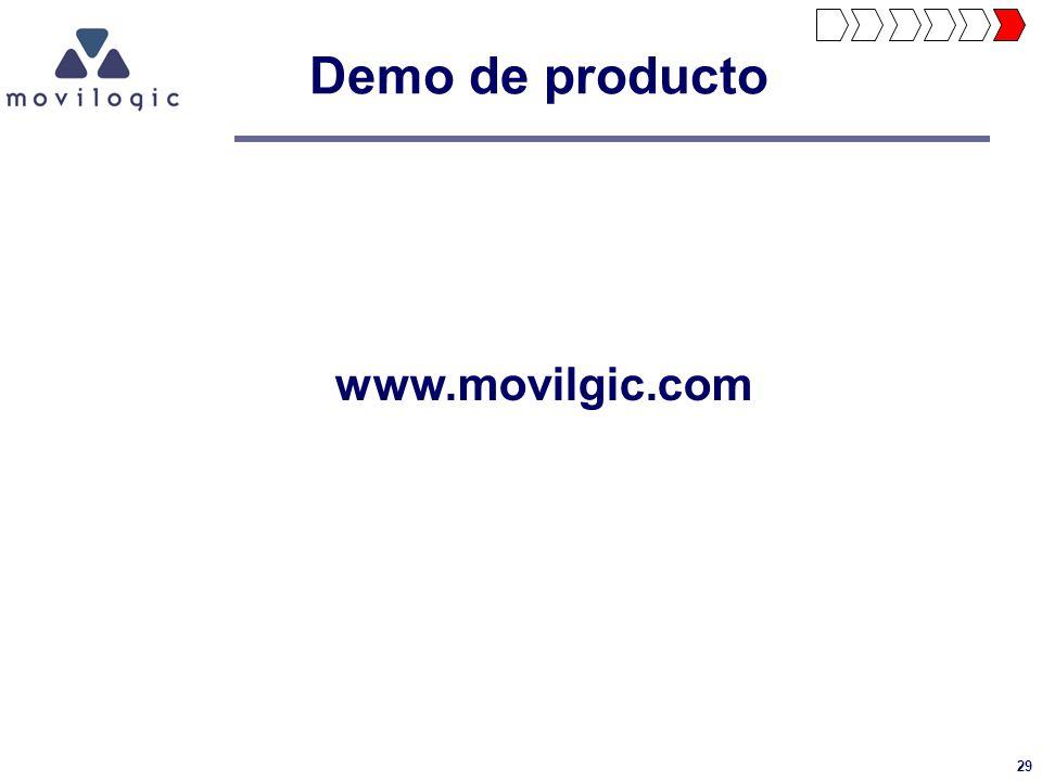 29 Demo de producto www.movilgic.com