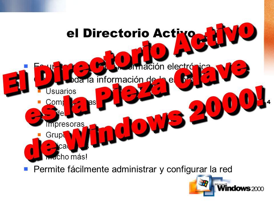 3 Active Directory ¿Qué es Active Directory? ¿Qué beneficios me trae?