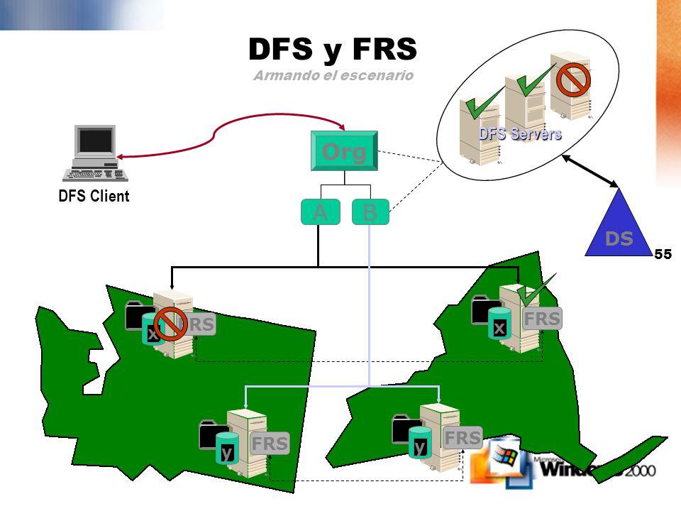 54 Usos comunes User home directories Puntos de distribución de Software Almacenamiento de archivos comunes o públicos Directorios de proyectos Direct