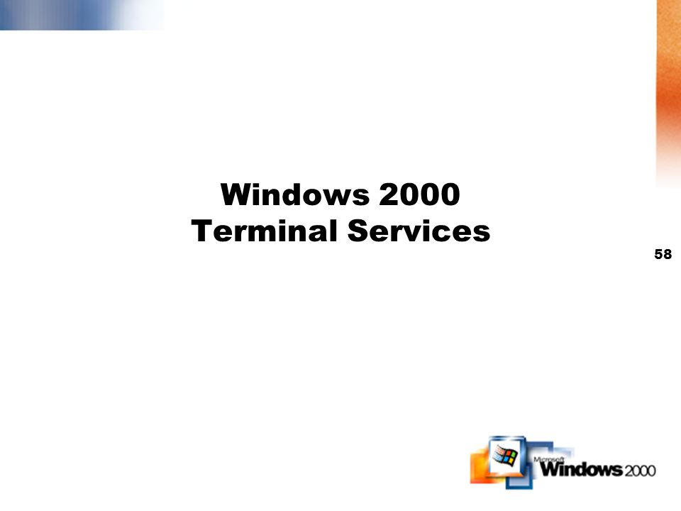 57 Mas información (www.winnetmag.com)www.winnetmag.com Números de documento: 16568 Windows 2000s Distributed File System Get a Head Start on NT 5.0 w