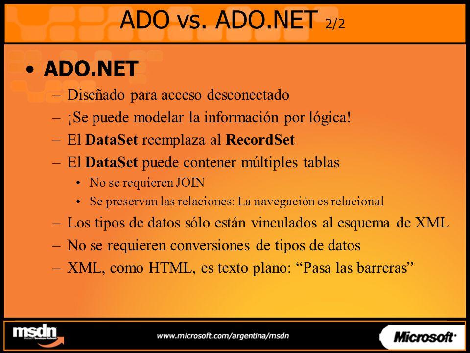 ADO vs.
