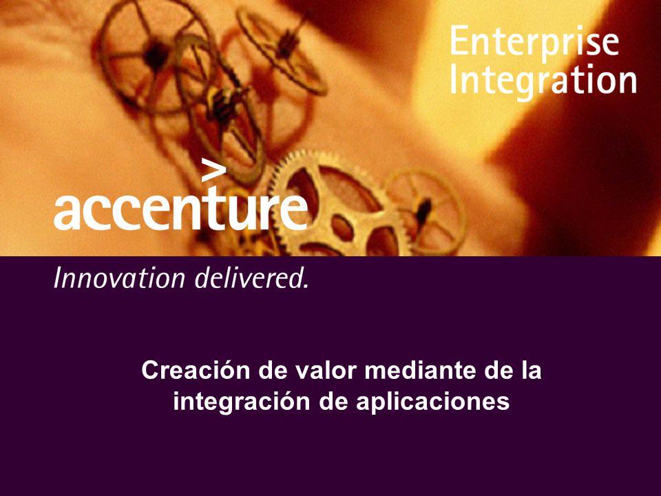 Creación de valor mediante de la integración de aplicaciones
