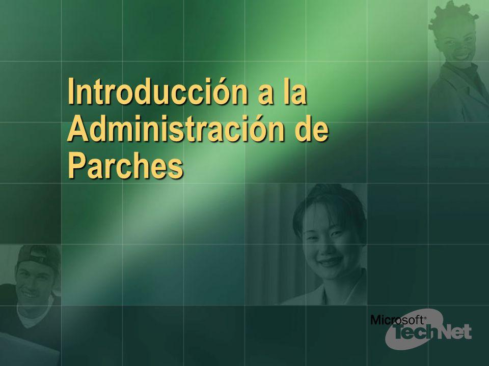 Introducción a la Administración de Parches