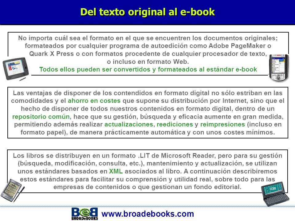 e-Books La conversión digital. Servicios de conversión.