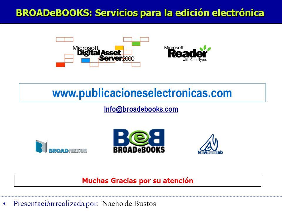 www.broadebooks.com Para obtener un k = 5, encontramos que serían necesarias 455 descargas El Break even se produce a las 178 descargas y el k equivalente como: k Eq.