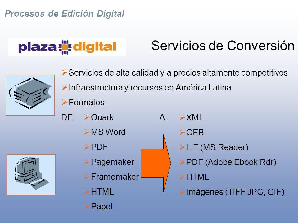 Procesos de Edición Digital Socios Tecnológicos Clientes Nuestros Socios y Clientes
