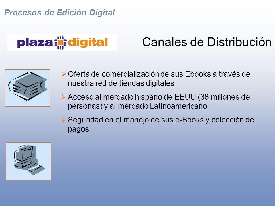 Procesos de Edición Digital Consultoría estratégica Asesoría estratégica en Edición digital Gestión de contenidos Evaluación de procesos internos de edición Desarrollo y administración de Tiendas Virtuales para la venta de eBooks Estrategias de mercadeo global Desarrollo e Integración de Sistemas
