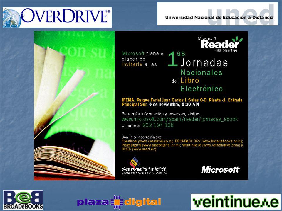 Conclusiones Txema Arnedo Responsable eBooks Microsoft Ibérica