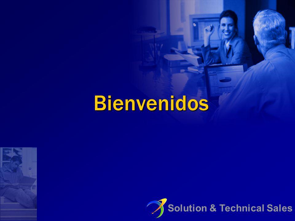 Solution & Technical Sales Bienvenidos