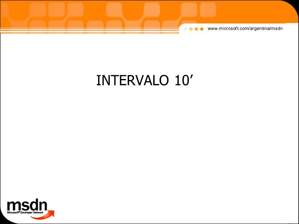 INTERVALO 10