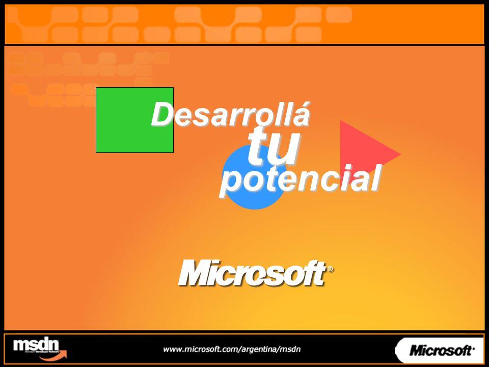 tu Desarrollá potencial