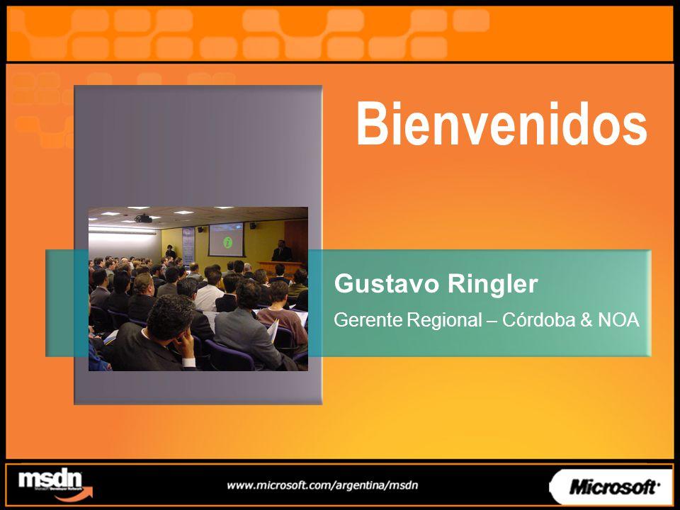 Bienvenidos Gustavo Ringler Gerente Regional – Córdoba & NOA