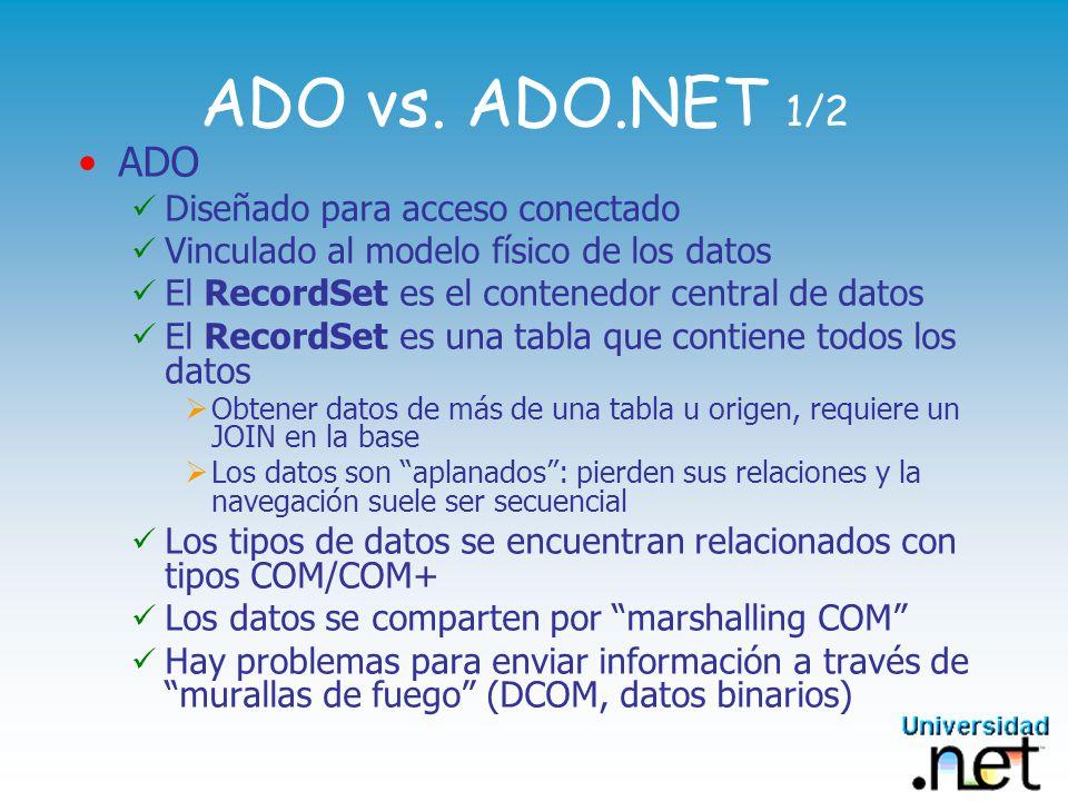 System.Data - DataSet 3/3 Contenedor Universal de datos DataSet: No sólo para bases de datos