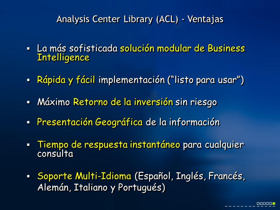 La más sofisticada solución modular de Business Intelligence La más sofisticada solución modular de Business Intelligence Rápida y fácil implementació
