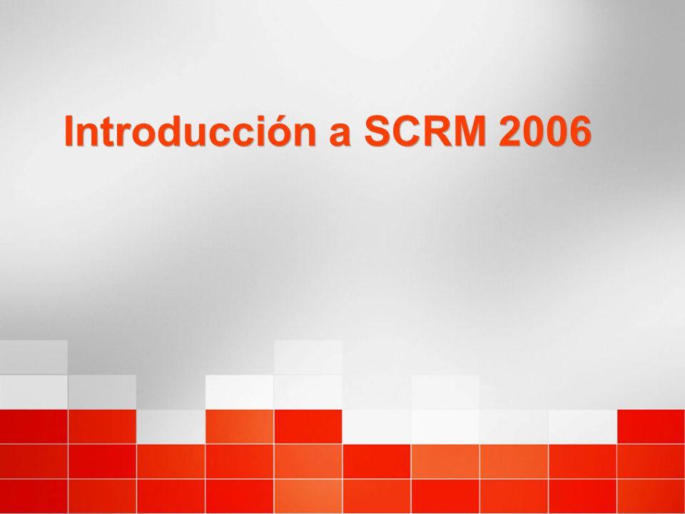 System Center Reporting Manager 2006 es una solución de análisis de datos que permite: Integrar los datos de operaciones de gestión de sistemas Centralizar los informes de MOM 2005 y SMS 2003 Consolidar la información de múltiples orígenes de datos Analizar la salud y el rendimiento de la infraestructura de sistemas Basado en SQL Server 2005 Reporting Services Introducción a SCRM 2006