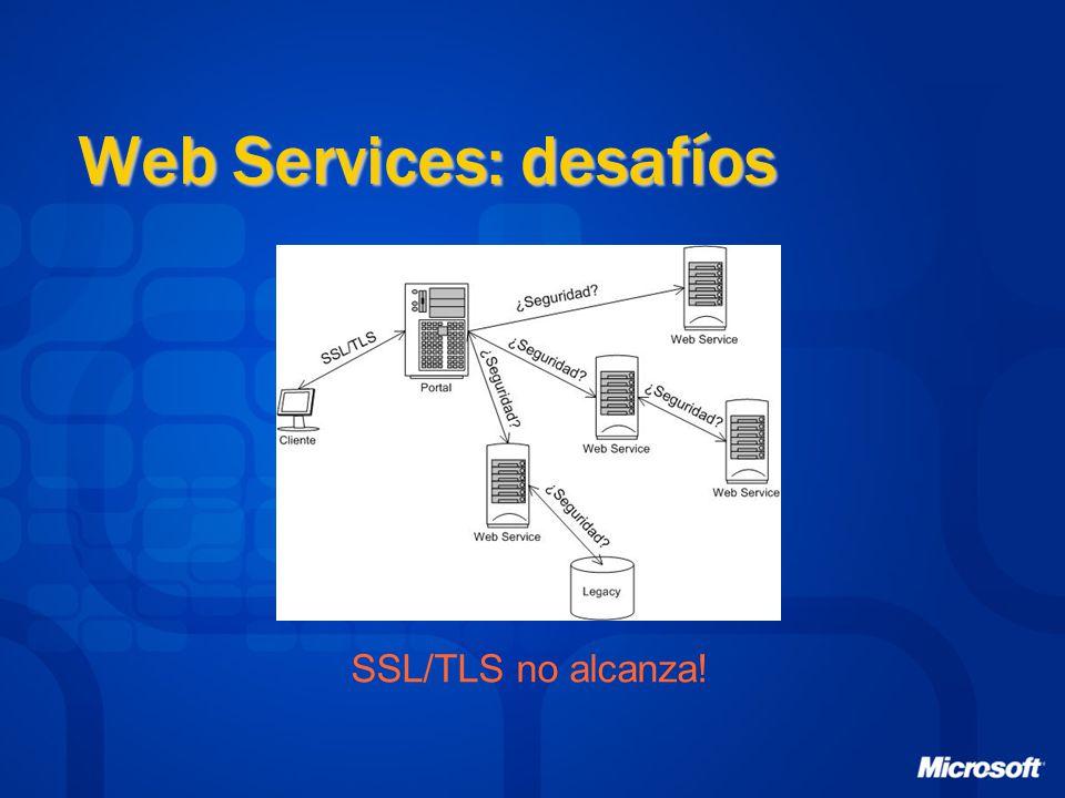 Web Services: desafíos SSL/TLS no alcanza!