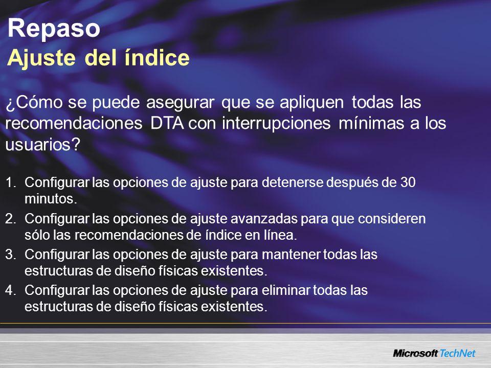 ¿Cómo se puede asegurar que se apliquen todas las recomendaciones DTA con interrupciones mínimas a los usuarios.