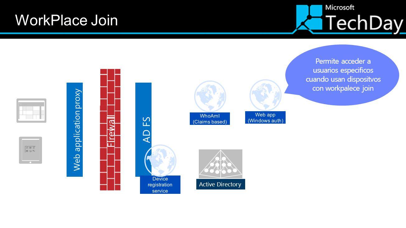 Active Directory Permite acceder a usuarios especificos cuando usan dispositvos con workpalece join