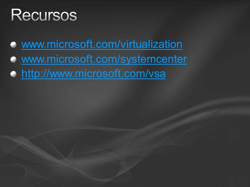 www.microsoft.com/virtualization www.microsoft.com/systemcenter http://www.microsoft.com/vsa